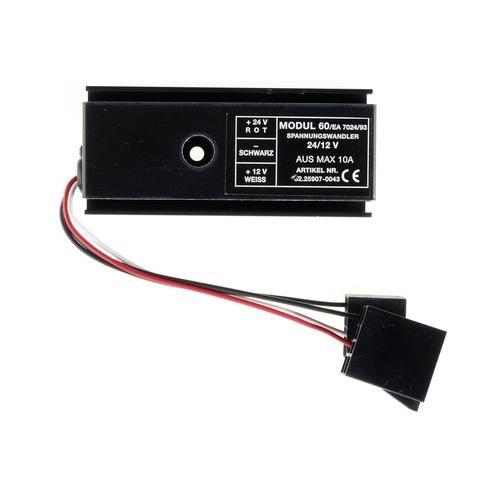 Pioneer 24/12 Volt Konverter LKW (Spannungswandler) mit ISO