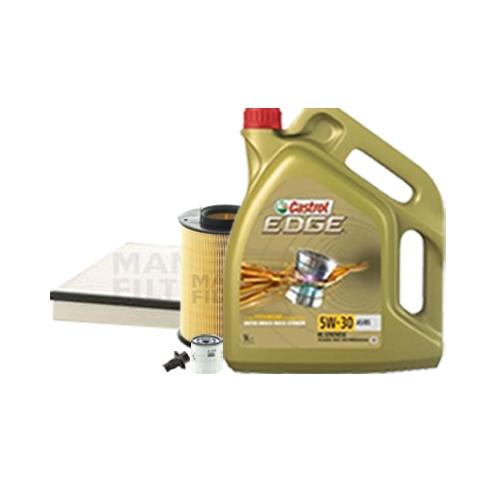 Inspektionskit Ölfilter, Luftfilter und Innenraumfilter + Motoröl 5W-30 5L