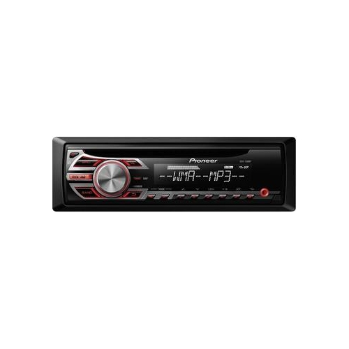 Pioneer DEH-150MP CD-Tuner/AUX (rot)