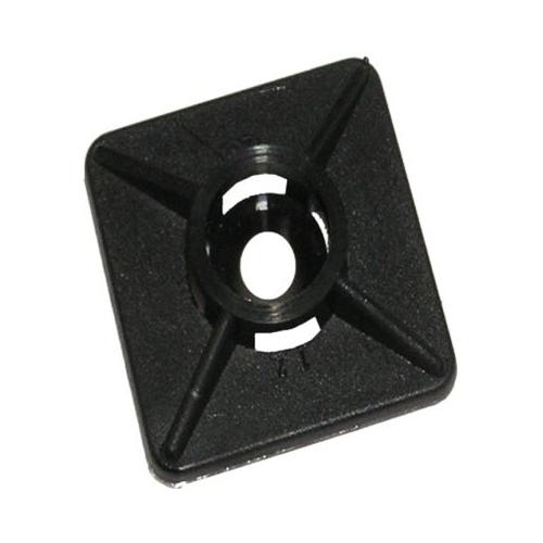 Klebesockel für Kabelbänder 4627/705/17 19 x 19 x 4 100 Stück