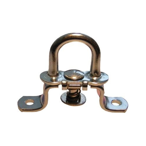 FRIELITZ 020010105-VP twist lock, height 17 mm, hole spacing 51mm, galvanized