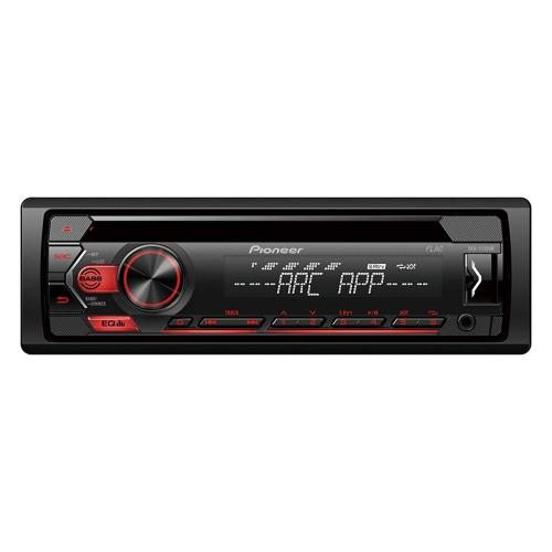 Pioneer DEH-S120UB , 1DIN RDS-Autoradio mit roter Tastenbeleuchtung
