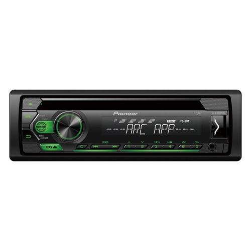 Pioneer DEH-S120UBG , 1DIN RDS-Autoradio mit grüner Tastenbeleuchtung
