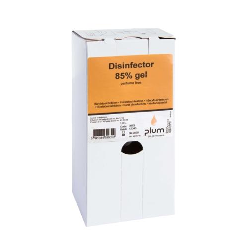 PLUM 3963 Disinfektions-Gel 85%, Inhalt 1,0 Liter
