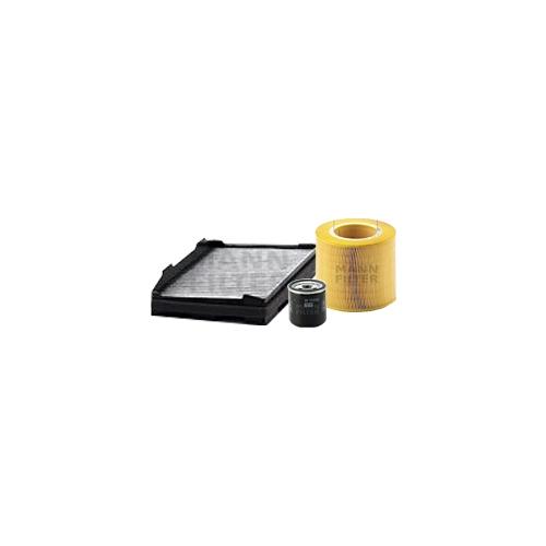 MANN-FILTER Filter Satz, Öl-,Luft und Innenraum Aktivkohle-Filter VSF0148MAN