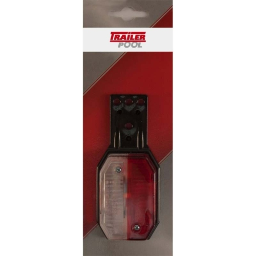 FRIELITZ 014000354-VP Aspöck Begrenzungsleuchte Flexipoint-H rot/weiß