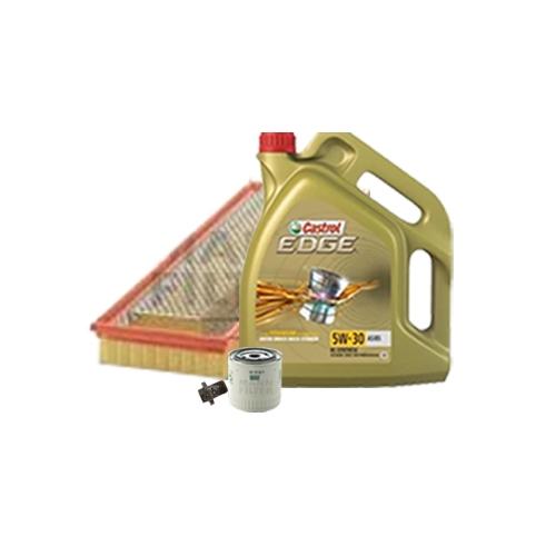 Inspektionskit Ölfilter, Luftfilter + Ablasschraube und Motoröl 5W-30 5L
