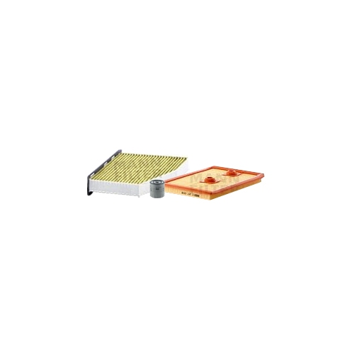 MANN-FILTER Ölfilter, Luftfilter und Polyphenol Innenraumluftfilter VSF0343MAN