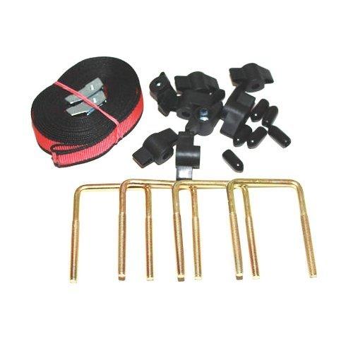 Kamei-05269510 U-Bügel-Montagesatz für Dachboxen, Komfort-Schiebe-Befestigung
