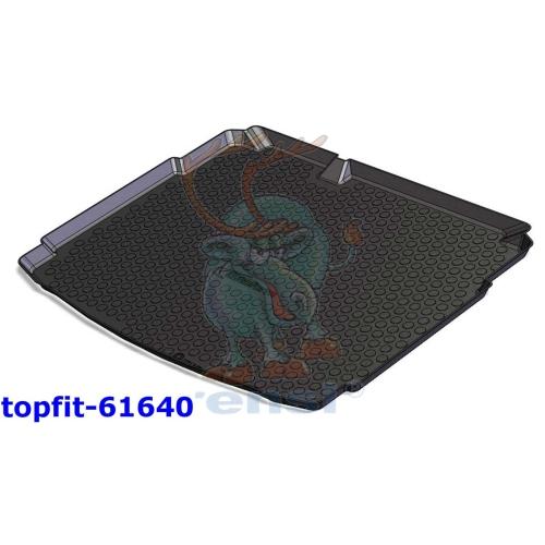 RENSI 61640 Kofferraumschalenmatte Gewicht 1100 g