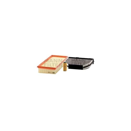 MANN-FILTER Filter Satz, Öl-,Luft und Innenraum Aktivkohle-Filter VSF0231MAN