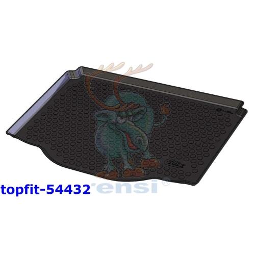 RENSI 54432 Kofferraumschaltenmatte Gewicht 1000 g