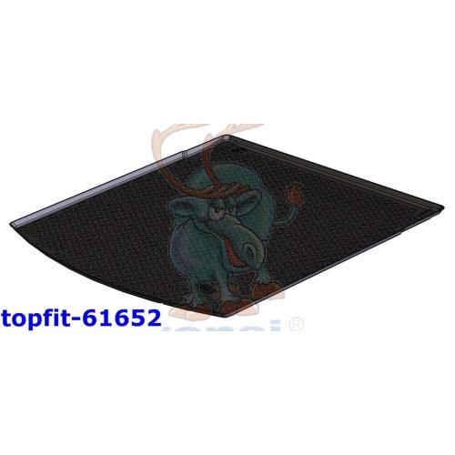 RENSI 61652 Kofferraumschalenmatte für hohen Ladeboden/oberer Ladeboden 1200 g