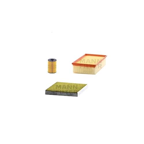 MANN-FILTER Filter Satz, Öl, Luft- und Innenraum-Filter Polyphenol VSF0024MAN