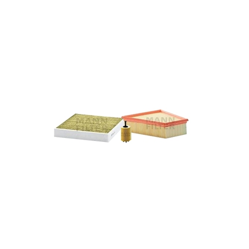 MANN-FILTER Ölfilter, Luftfilter und Polyphenol Innenraumluftfilter 3VSF0422MAN
