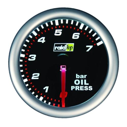 Rdi 660241 Raid Hp Öldruckanzeige Messbereich 7-0 bar Night Flight, 52mm