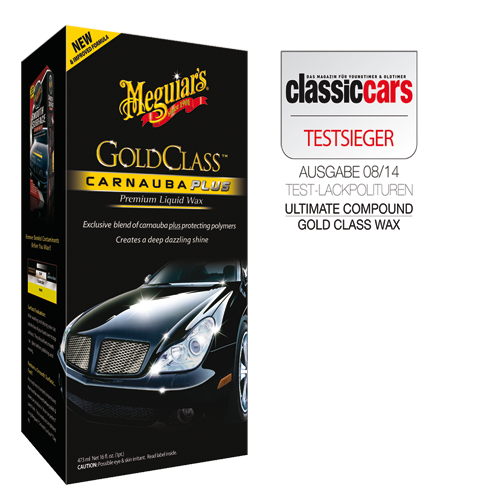 MEGUIARS Meguiar's Gold Class G7016EU Liquid Wax car wax 473 ml G7016EU