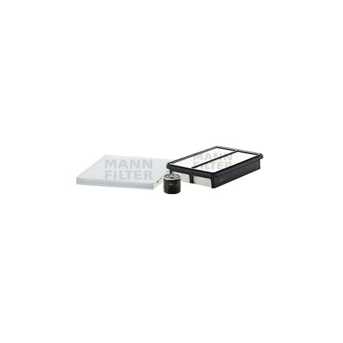 MANN-FILTER Filter Satz Ölfilter, Luftfilter und Innenraumluftfilter VSF0423MAN