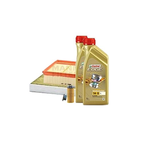 Inspektionskit Ölfilter, Luftfilter und Innenraumfilter + Motoröl 5W-30 LL 10L