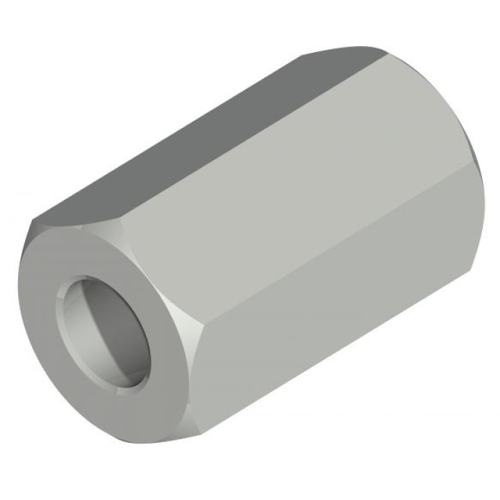 KNOTT 401265.001 Connection sleeve for rod extension, M10 / M10, SW 17
