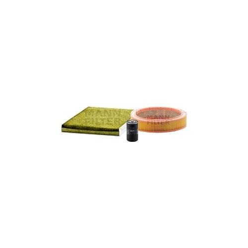 MANN-FILTER Ölfilter, Luftfilter und Polyphenol Innenraumluftfilter VSF0388MAN