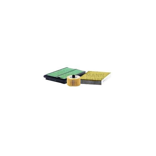 MANN-FILTER Ölfilter, Luftfilter und Polyphenol Innenraumluftfilter VSF0405MAN
