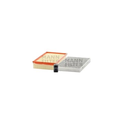 MANN-FILTER Filter Satz, Öl-,Luft und Innenraum Aktivkohle-Filter VSF0229MAN