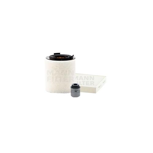 MANN-FILTER Filter Satz Ölfilter, Luftfilter und Innenraumluftfilter VSF0374MAN