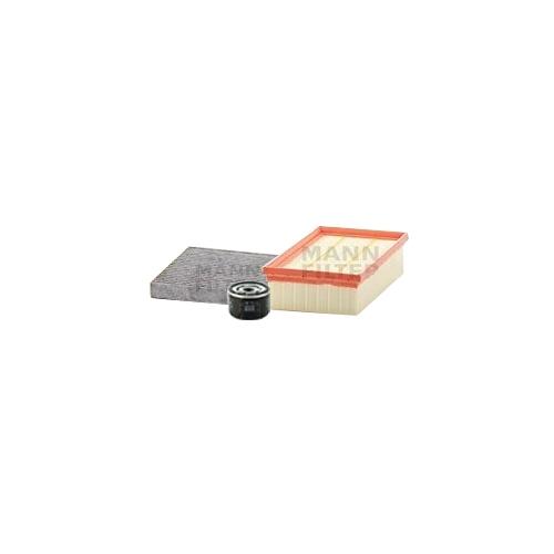 MANN-FILTER Ölfilter, Luftfilter und Aktivkohle Innenraumluftfilter VSF0371MAN