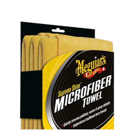 MEGUIARS Meguiar's Supreme Shine Microfiber cloth X2020EU 3 pieces X2020EU
