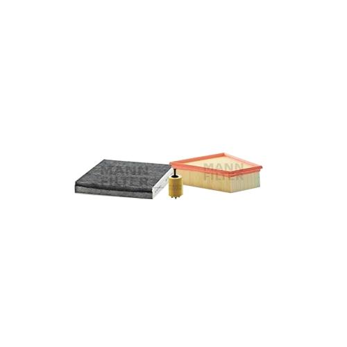 MANN-FILTER Ölfilter, Luftfilter und Aktivkohle Innenraumluftfilter VSF0421MAN