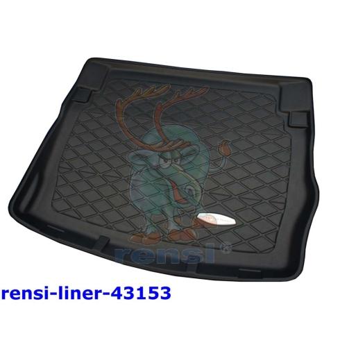 RENSI 43153 Kofferraumschalenmatte Gewicht 1600 g