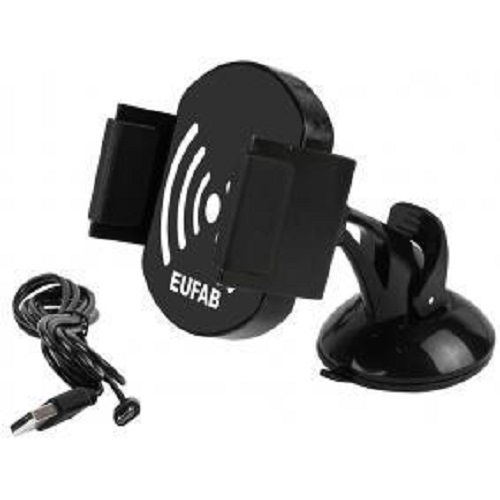 Eufab 16458 phone holder with inductive charging function