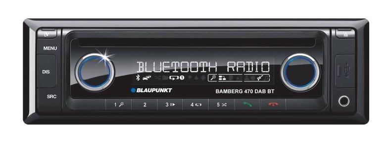 BLAUPUNKT AUGSBURG 170 BT car stereo