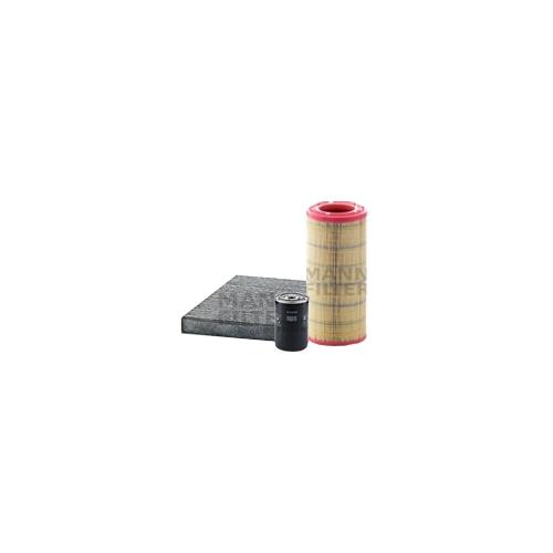 MANN-FILTER Filter Satz, Öl-,Luft und Innenraum Aktivkohle-Filter VSF0182MAN