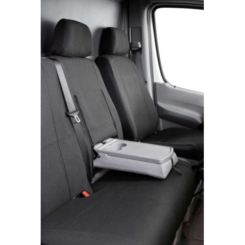 Seat covers for vans Mercedes-Benz Sprinter and VW LT single seat and double bench