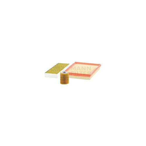 MANN-FILTER Filter Satz, Öl-,Luft und Innenraum-Filter Polyphenol VSF0180MAN