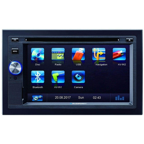 Blaupunkt multimedia receiver LAS VEGAS 570 2 002 017 000 009