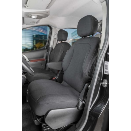 Seat covers for Peugeot Partner 2 single seats, front