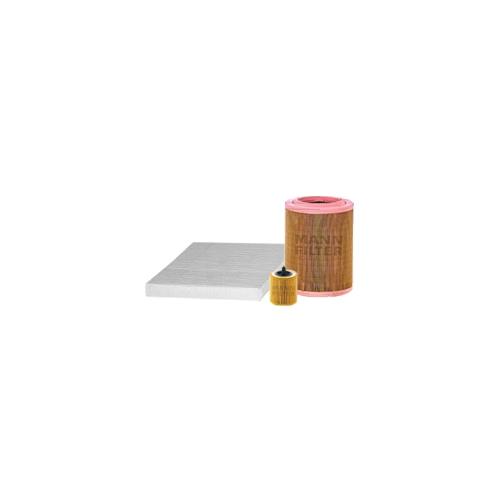 MANN-FILTER Filter Satz, Öl-,Luft und Innenraum-Filter VSF0201MAN