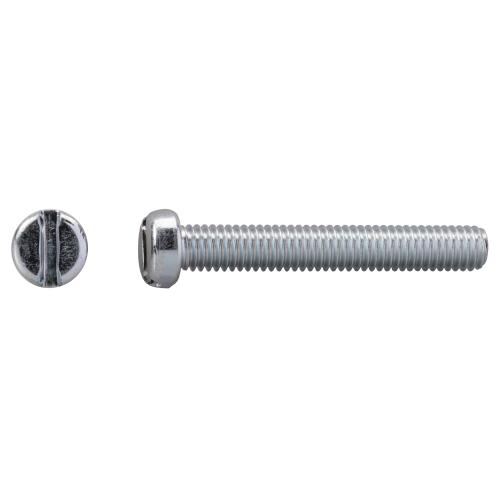 Zylinderschrauben mit Schlitz 0400/001/51 M 3 x 25 DIN EN ISO 1207 100 VPE