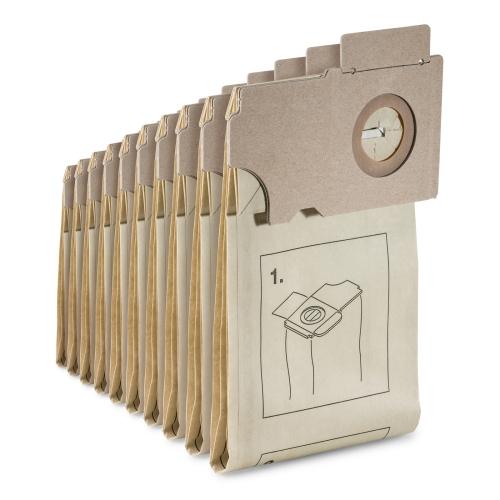 Kärcher Paper filter bags 2-ply 10 St. Art.Nr .: 6.906-097.0