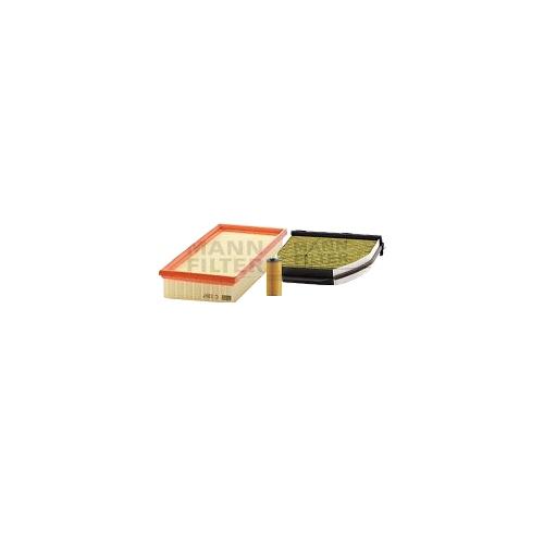 MANN-FILTER Filter Satz, Öl-,Luft und Innenraum-Filter Polyphenol VSF0232MAN