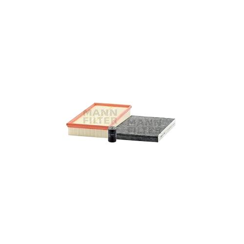 MANN-FILTER Ölfilter, Luftfilter und Aktivkohle Innenraumluftfilter VSF0437MAN
