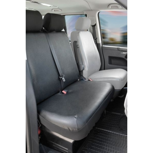 Seat covers for VW T6 double bench, front