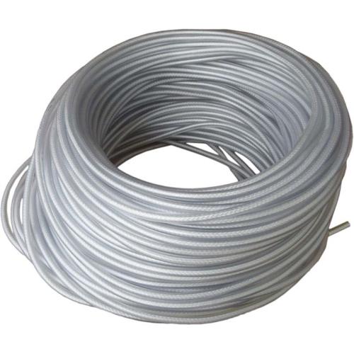 FRIELITZ 020010406 PVC-Seil transparent mit Nyloneinlage, 8 mm