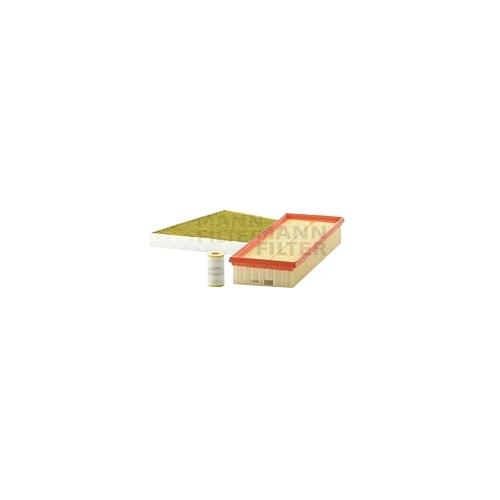 MANN-FILTER Ölfilter, Luftfilter und Polyphenol Innenraumluftfilter VSF0452MAN