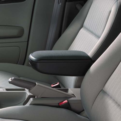 KAMEI 0 14385 21 Mittelarmlehne aus Stoff, schwarz für Ford Fiesta VI