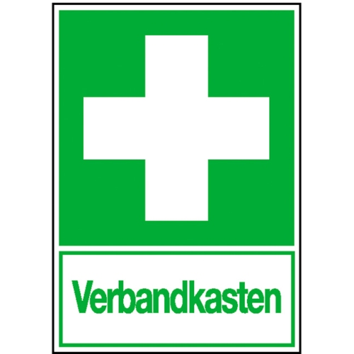 """SIGN SAFETY 15.0074 Rettungsschild """"Erste Hilfe"""", Aluminium, 20cm x 30cm"""