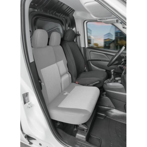 Seat covers for Fiat Doblo 2 single seat, driver seat